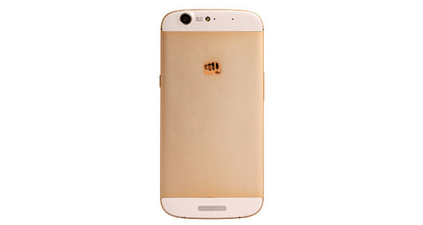 Micromax Canvas Gold A300 Back View