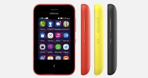 Nokia Asha 230 Front and Side View
