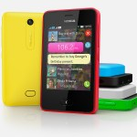 Nokia Asha 501 Front and Back View