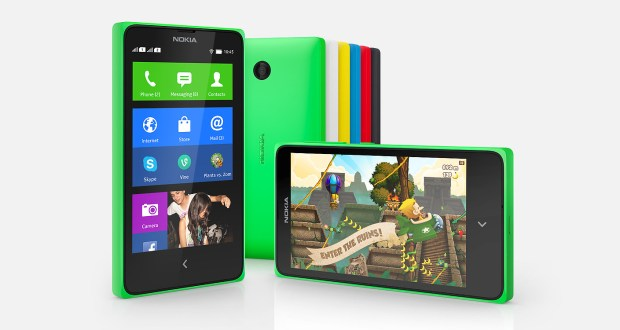 Nokia X Plus Overall View