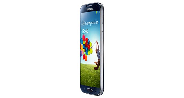 Samsung Galaxy S4 Side View