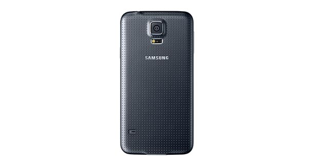 Samsung Galaxy S5 Back View