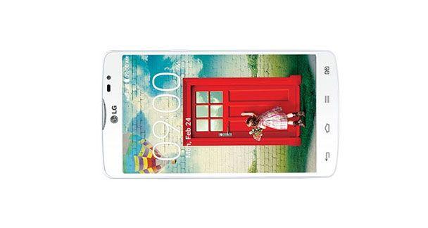 LG L80 Dual D380 Horizontal View