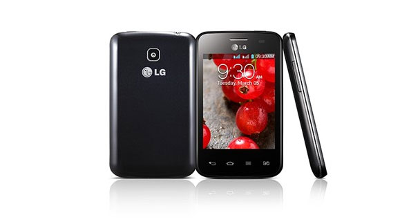 LG Optimus L3II Dual E435 Overall View