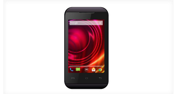 Lava Iris 310 Style Front View