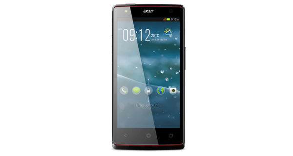 Acer Liquid E3 Front View