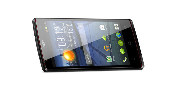 Acer Liquid E3 Horizontal View