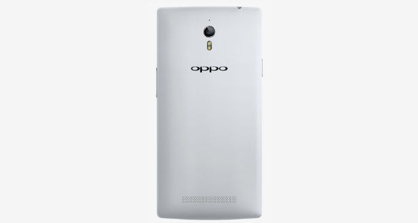 Oppo Find 7 Back View