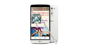 LG G3 Stylus Front and Back View