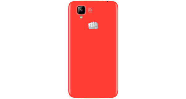 Micromax Bolt A066 Back View