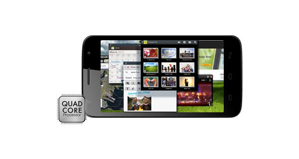 Micromax Canvas Entice A105 Horizontal View
