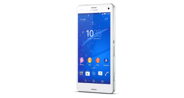 Sony Xperia Z3 Compact Front View