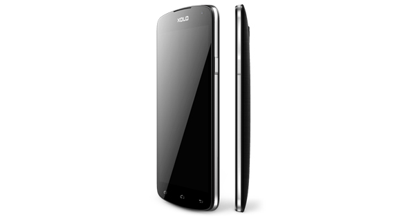 XOLO Omega Side View
