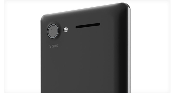 Lava Iris 465 Back View