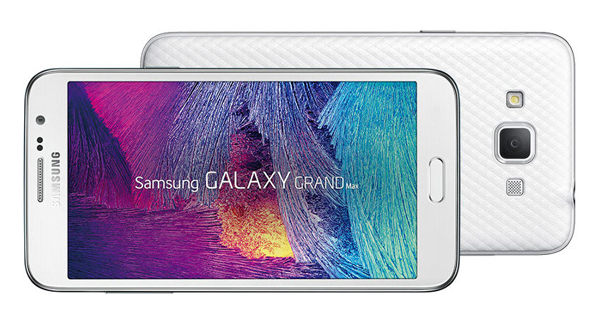 Samsung Galaxy Grand Max Overall View