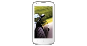 Intex Aqua Speed Front View