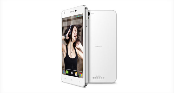 Lava Iris X1beats Side & Back View