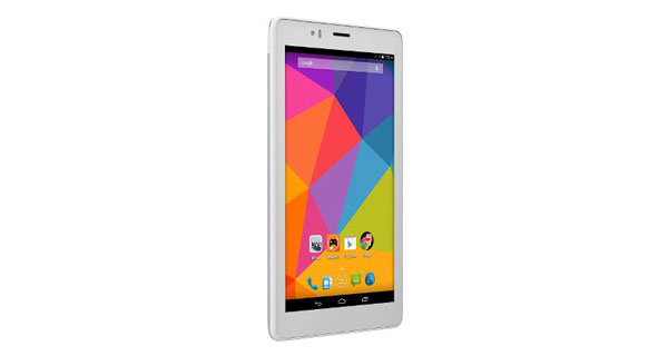 Micromax Canvas Tab P470 Left Side View
