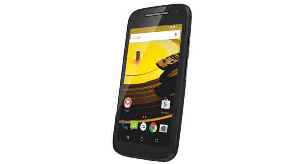 Motorola Moto E 2nd Gen) Front & Side View