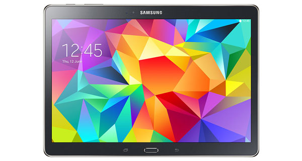Samsung Galaxy Tab S 10.5 Front View