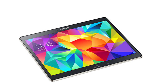 Samsung Galaxy Tab S 10.5 Top View