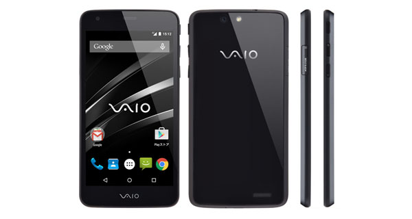 VAIO Officially Announces its First Smartphone with 5-inch HD Display