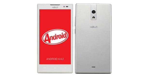 XOLO Q1001 Front & Back View
