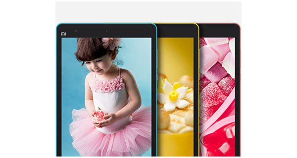 Xiaomi MiPad Front