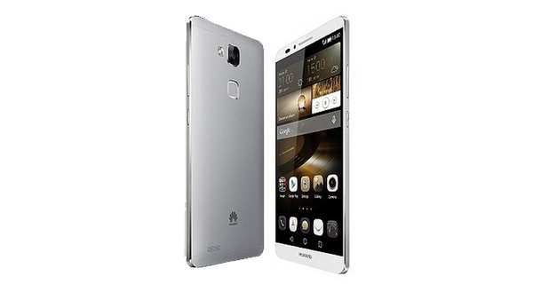 Huawei P8 Front and Back View