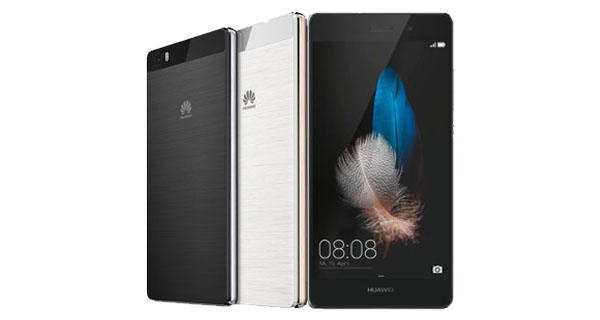 Huawei P8 Lite Front and Back View