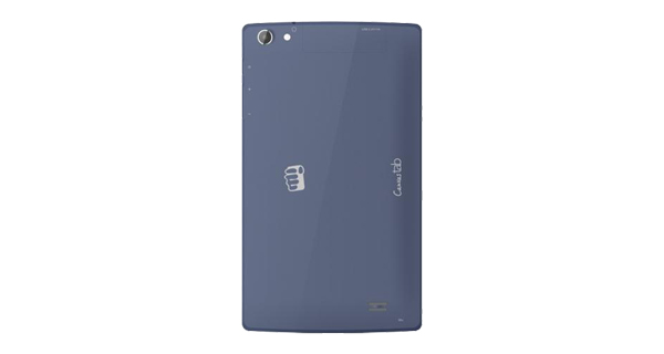 Micromax Canvas Tab P480 Back View