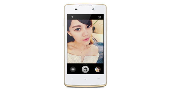 Oppo Joy Plus Front View
