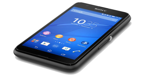 Sony Xperia E4g Top View