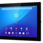 Sony Xperia Z4 Tablet Front View