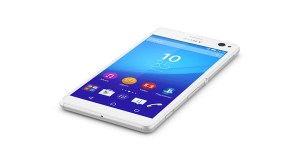 Sony Xperia C4 White Top View