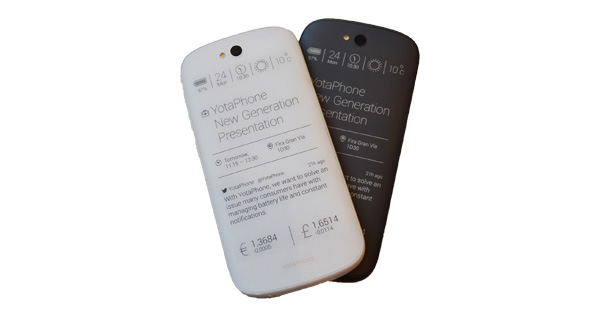Yota YotaPhone 2 Back View