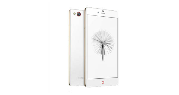 ZTE nubia Z9 mini Front and Back View