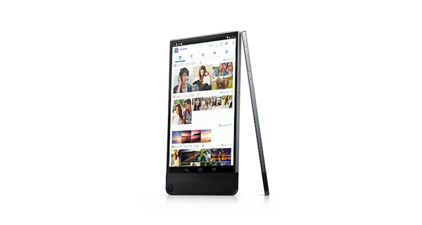 Dell Venue 8 7000 Front and Side View