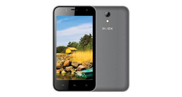 Intex Aqua Q4 Front and Back View