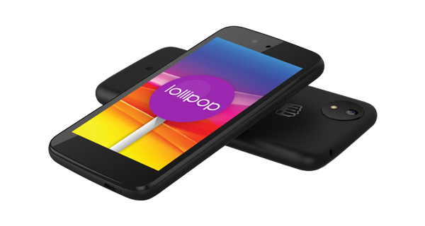 Micromax Canvas A1 AQ4502 Top View