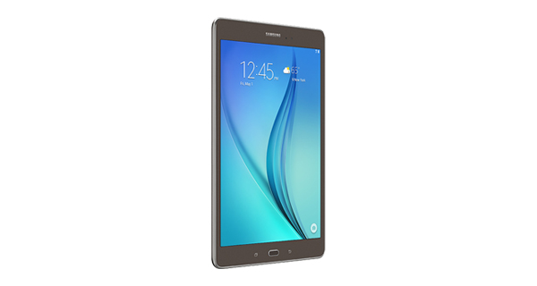 Samsung Galaxy Tab A Front Left