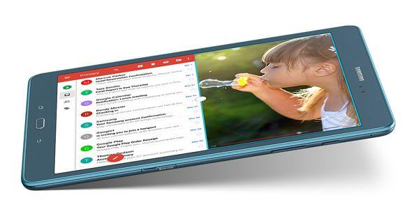 Samsung Galaxy Tab A Top View