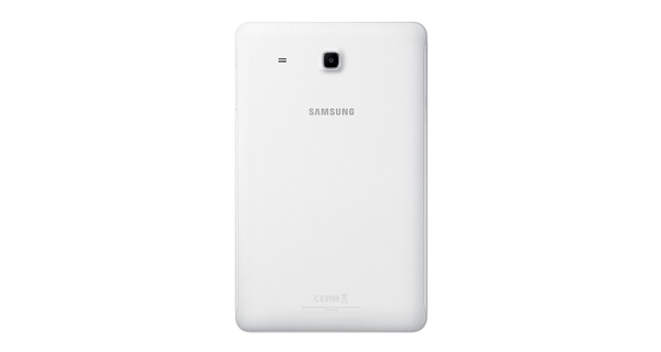 Samsung Galaxy Tab E Back View