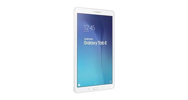 Samsung Galaxy Tab E Front