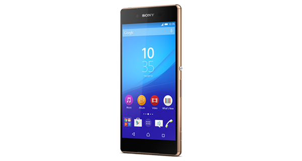 Sony Xperia Z3 Plus Front View