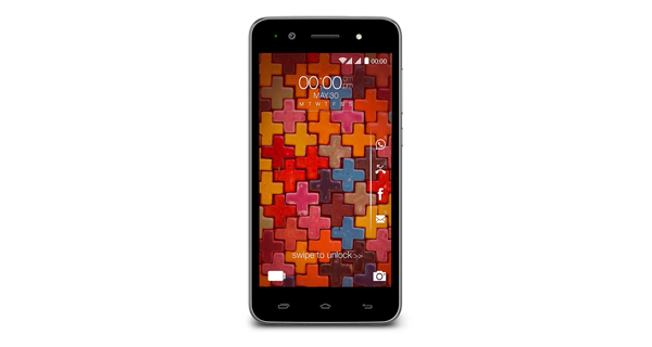 Karbonn Titanium Mach One Plus Front Black