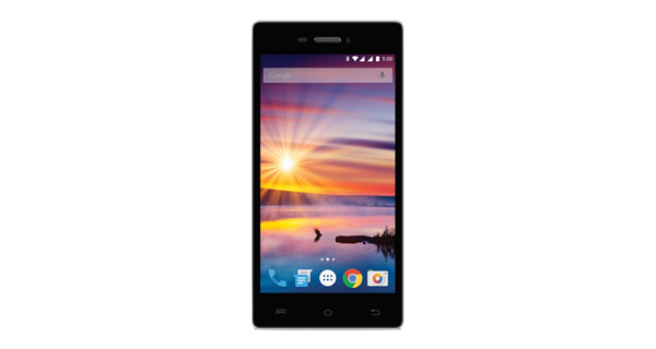 Lava Flair Z1 Front View