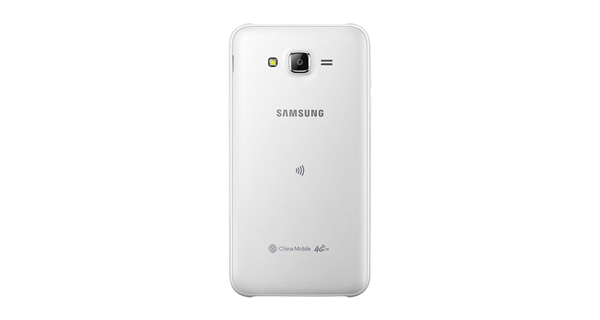 Samsung Galaxy J7 Back View