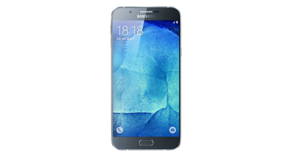 Samsung Galaxy A8 Front View