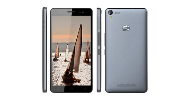 Micromax Canvas Juice 3+ Overall View
